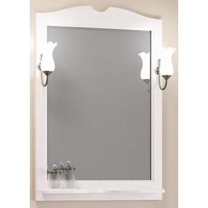 Зеркало в деревянной раме Opadiris Клио 70 белый с оттенком, для светильников 00000001041, Z0000001408 (Z0000002645) зеркало в деревянной раме opadiris риспекто 105 слоновая кость для светильников 00000001041 z0000001408 z0000006704