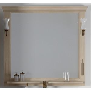 Зеркало Opadiris Риспекто 105 с светильниками, слоновая кость 1013 (Z0000006704 + 00000001041)