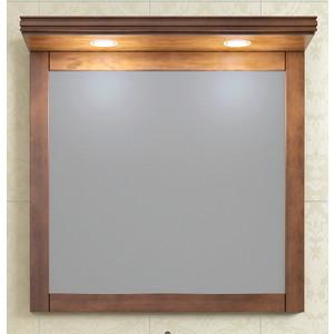 Зеркало Opadiris Мираж 80 для установки с козырьком Z0000007082, светлый орех Р10 (Z0000006875) фото