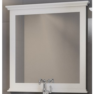Зеркало Opadiris Палермо 90 белый матовый 9003 (Z0000008548)
