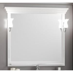 Зеркало Opadiris Риспекто 105 с светильниками, белый матовый 9003 (Z0000012655 + Z0000006243)