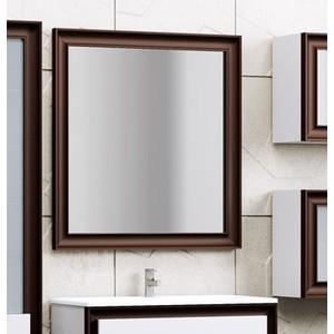 Зеркало Opadiris Капри 80 с подсветкой и сенсорным выключателем, белый глянцевый/нагал P46 (Z0000003919)