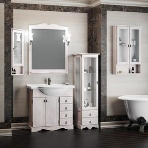 Мебель для ванной Opadiris Клио 80 белый с оттенком