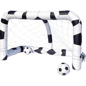 Футбольный набор Bestway 52058 (надувные ворота 213х122х137 см и 2 мяча)