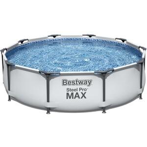 Каркасный бассейн Bestway 56408 (305х76 см) 4678л бассейн каркасный polygroup p20 1248 s 366х122 см