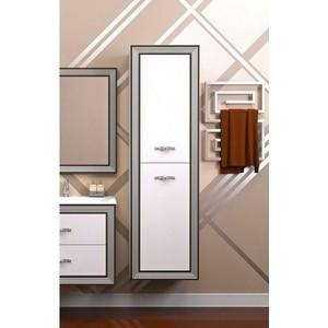 Пенал Opadiris Карат 50 белый глянцевый/коричневый с патиной (Z0000003940) фото