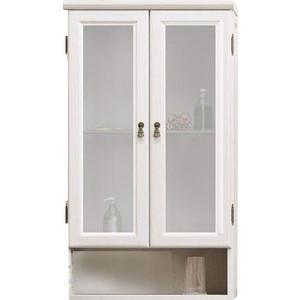 Шкаф Opadiris Клио 57 с матовым стеклом, беленый бук (Z0000003992)