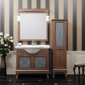 Мебель для ванной Opadiris Борджи 105 светлый орех Р10