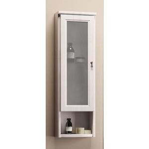 Шкафчик Opadiris Клио 30 подвесной одностворчатый белый с оттенком с матовым стеклом левый (Z0000004980) недорого