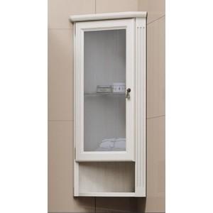 Шкафчик Opadiris Клио 30 подвесной угловой белый с оттенком с матовым стеклом левый (Z0000004981) недорого