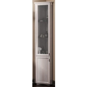 Пенал Opadiris Клио 36 угловой белый с оттенком с матовым стеклом левый (Z0000006322) недорого