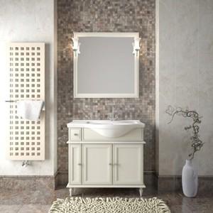 Мебель для ванной Opadiris Санрайз 90 правая, слоновая кость 1013
