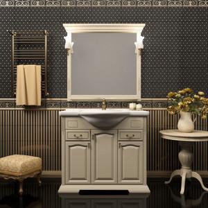 Мебель для ванной Opadiris Риспекто 95 слоновая кость 1013