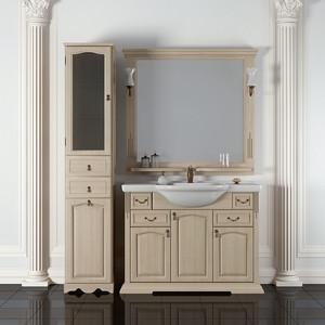 Мебель для ванной Opadiris Риспекто 100 слоновая кость 1013