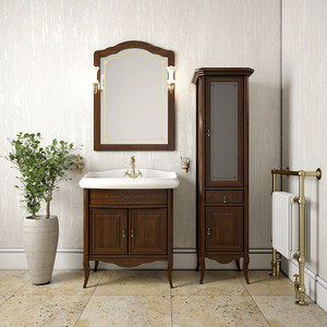 Мебель для ванной Opadiris Лоренцо 80 светлый орех Р10