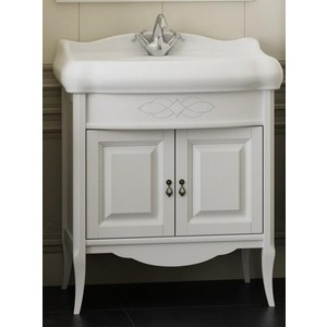 Мебель для ванной Opadiris Лоренцо 80 белый матовый 9003