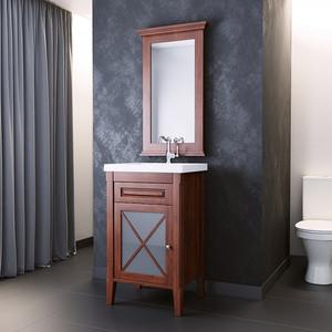 Мебель для ванной Opadiris Палермо 50 светлый орех левая