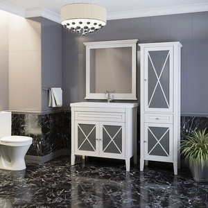 Мебель для ванной Opadiris Палермо 90 белый