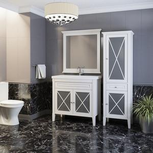 цены Мебель для ванной Opadiris Палермо 90 белый