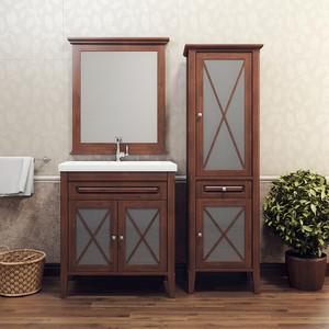 Мебель для ванной Opadiris Палермо 75 светлый орех