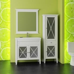 Мебель для ванной Opadiris Палермо 75 белый матовый 9003