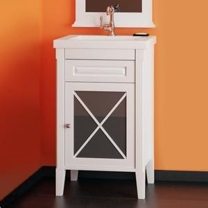 Мебель для ванной Opadiris Палермо 50 белый правая