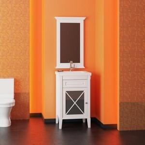 Мебель для ванной Opadiris Палермо 50 белый левая