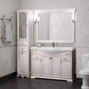 Мебель для ванной Opadiris Риспекто 120 белый с оттенком