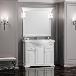 Мебель для ванной Opadiris Риспекто 100 белый матовый
