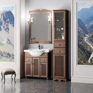 Мебель для ванной Opadiris Тибет 70 нагал с решеткой