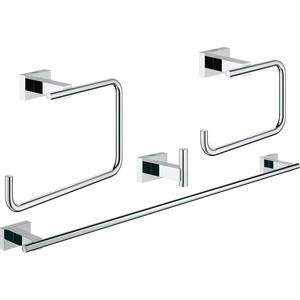 Набор аксессуаров Grohe Essentials Cube 4 предмета (40778001)