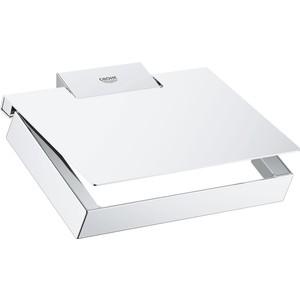 Держатель туалетной бумаги Grohe Selection Cube с крышкой (40781000)