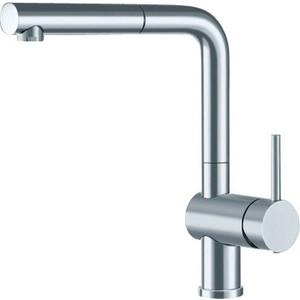 Смеситель для кухни Blanco Linus-S с выдвижным изливом, рычаг справа, полированная сталь (517184)
