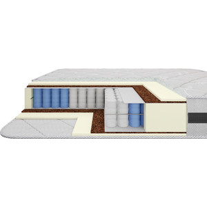 Матрас Armos Адель TFK 512 3D трикотаж 80x190
