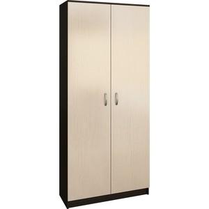Шкаф двухдверный Мастер Ольга (венге-дуб молочный) МСТ-ПДО-Ш2-ВД-98