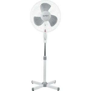 Вентилятор Maxtronic MAX-1619-1 бело/серый