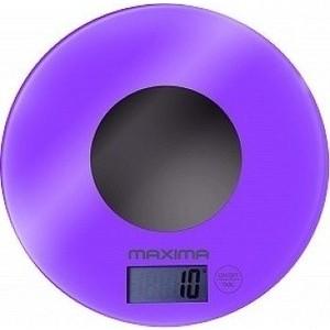 Весы кухонные MAXIMA MS-067 (фиолетовый)