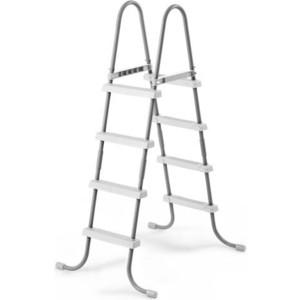 Лестница Intex для бассейнов до 122 см (28066) 4 ступеньки без площадки цена