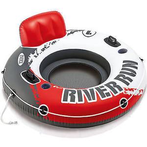 Круг надувной Intex Red River Run 1 с ручками 135 см (56825)