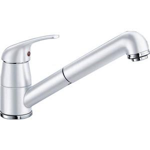 Смеситель для кухни Blanco Daras-s silgranit белый (524193/517735)