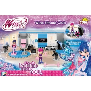 Конструктор COBI WINX Фитнес клуб WINX Fitness Club - COBI-25146 winx club school 63306