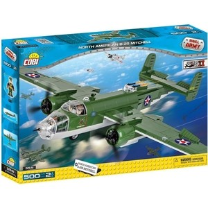 Конструктор COBI Самолет B-25 Mitchell - COBI-5541 конструктор cobi magic library