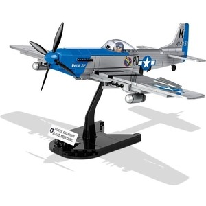 Конструктор COBI Самолет P-51D Mustang - COBI-5536 конструктор cobi magic library