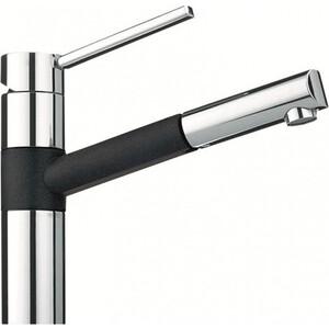 Смеситель для кухни Franke 350 с выдвижным шлангом /графит (115.0006.707)