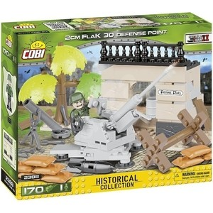 Конструктор COBI Пластиковый Зенитка 2 Cm FlaK 30 Point Of Anti-Aircraft Defense - COBI-2388