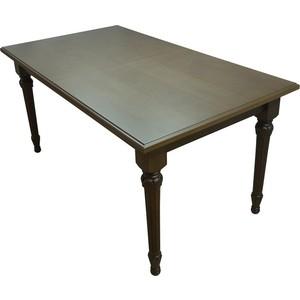 Стол обеденный Мебелик Жерар 03 орех 160/200х90