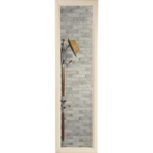 купить Зеркало Мебелик Селена слоновая кость настенное по цене 2060 рублей