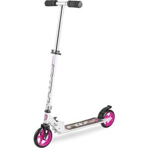 Самокат 2-х колесный FOXX городской Smiles сталь PU колеса 145 мм ABEC-7 розовый