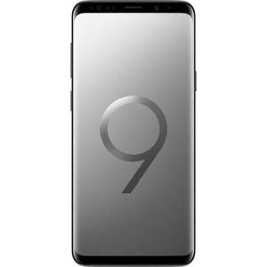 Смартфон Samsung Galaxy S9 SM-G960F 64Gb титан чехол для samsung galaxy s9 sm g960f clear cover прозрачный