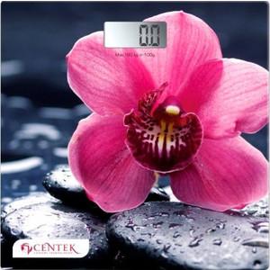 Весы напольные Centek CT-2421 Орхидея весы напольные centek ct 2421 закат